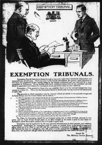 Poster on exemption tribunals