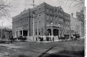 Quinte Hotel in Belleville, ca. 1908