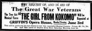 Poster for The Girl from Kokomo