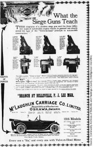 McLaughlin Carriage Company advertisement