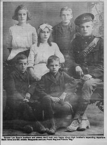 Gunner Leo Ross & siblings1