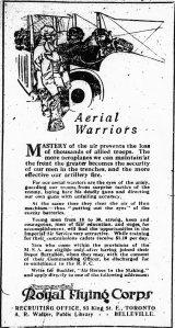 Aerial warriors