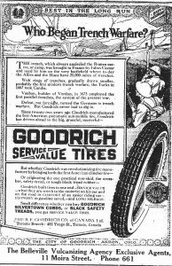 Ad for Goodrich tires