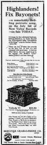 Advertisement, Belleville Intelligencer, June 28, 1915