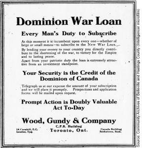 Dominion War Loan