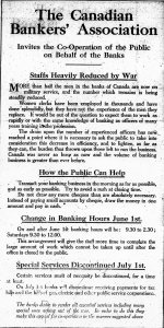 Poster of Canadian Bankers' Association