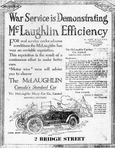 McLaughlin advertisement