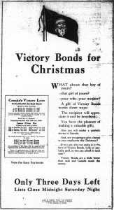 Poster for Victory Loan Campaign