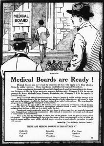Medical Boards advert