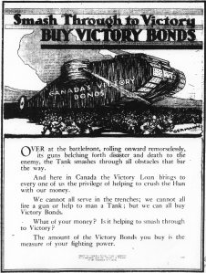 Poster for Victory Bonds