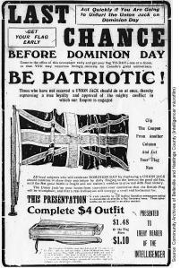 Advertisement, Belleville Intelligencer, June 30, 1915