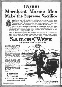 Poster for Sailors' Week