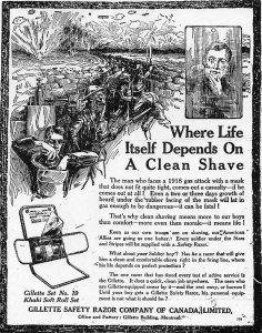 Gillet advertisement