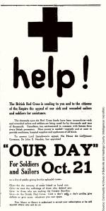 British Red Cross advertisement
