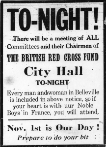 Poster for British Red Cross Fund