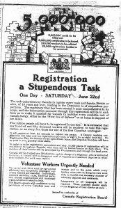 Poster for registration