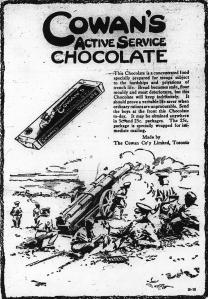 Ad for Cowan's Choroclate